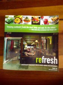 refresh cookbook