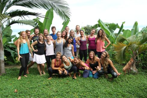 Costa Rica Multidimensional Yoga Teacher training February 2016