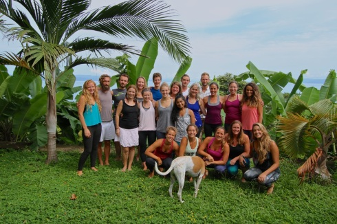 Costa Rica Multidimensional Yoga Teacher training march 2016